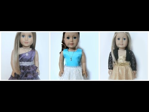 Holiday Dresses For American Girl Dolls- BuzzinBea
