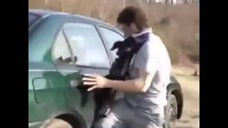 Приколы - Как открыть машину без ключей!!!(, 2016-01-08T12:19:13.000Z)