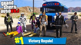GTA 5 Roleplay - DOJ 71 - Fortnite Battle Bus