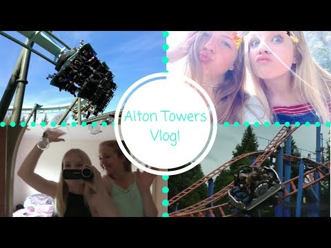 Alton Towers Vlog!||Abbie