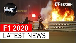 F1 IN 10 | LATEST NEWS | Romain Grosjean, Pietro Fittipaldi, Lewis Hamilton, Carlos Sainz