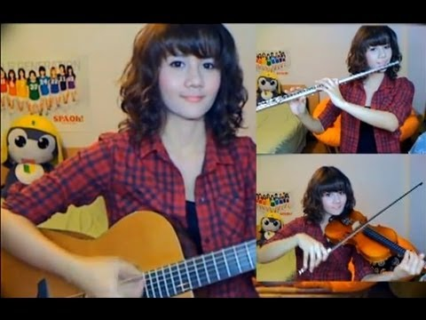 รักไม่ต้องการเวลา - Klear (Violin,Flute,Guitar cover by Fon)