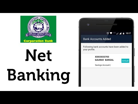 Corporation Bank Net Banking App