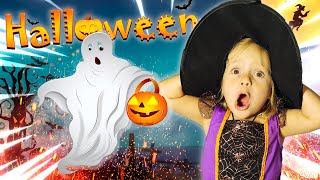 Halloween Song nursery Rhymes for kids from Varvara and Mom