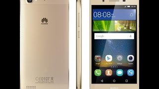 Unboxing/Распаковка. Телефон Huawei GR3 (Gold)