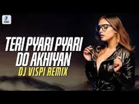teri-pyari-pyari-do-akhiyan-(remix)-|-dj-vispi-|-tiktok-viral-song-video