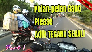 YOUTUBER PULANG KAMPUNG NAIK MOTOR PART 1_Motovlog indonesia