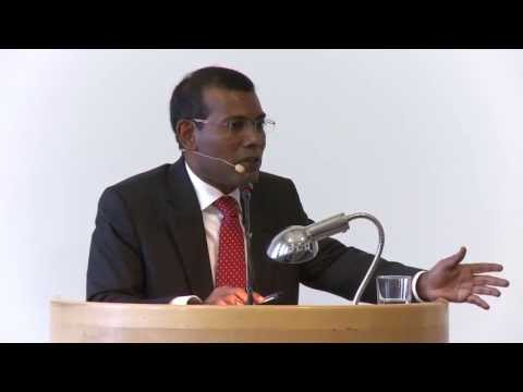 Lecture with Mohamed Nasheed - the Maldives: Will democracy prevail?