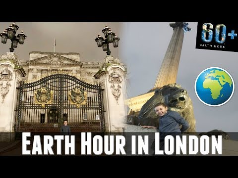 🌎 Earth Hour Light Switch off in London 💕