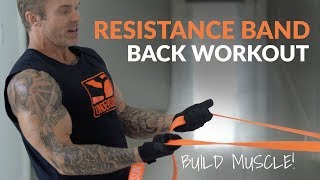 Awesome At-Home Back Workout Using Resistance Bands