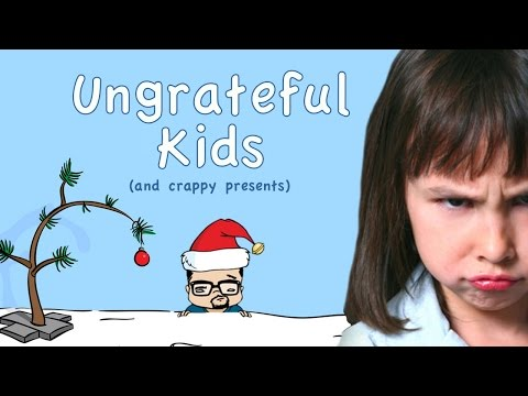 Christmas: Ungrateful Kids and Crappy Presents by Eddie G!
