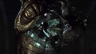 """Jul 2013 BATMAN Arkham Asylum """"CROC EATS THE SCARECROW"""""""