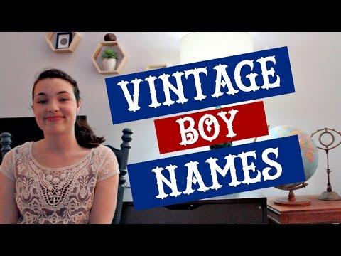 Unique Rare Vintage Boy Names Youtube