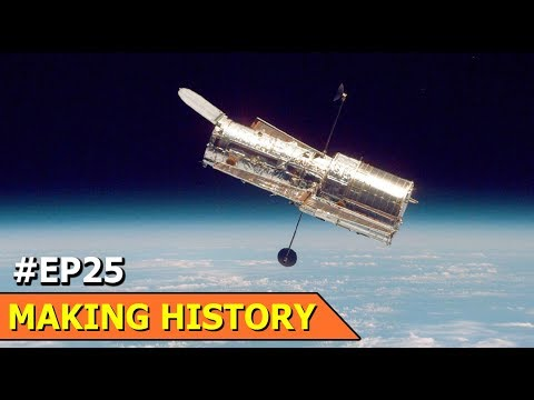 Nasa Hubble Space Telescope | Wind Up Radio & Solar Powered Radio | Making History | Ep 25