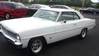 1966 Chevrolet Nova For Sale~Matching 327~Automatic~Beautiful Condition