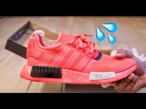 Adidas Nmd R1 Serial Pack Solar Red Unboxing And Review Youtube