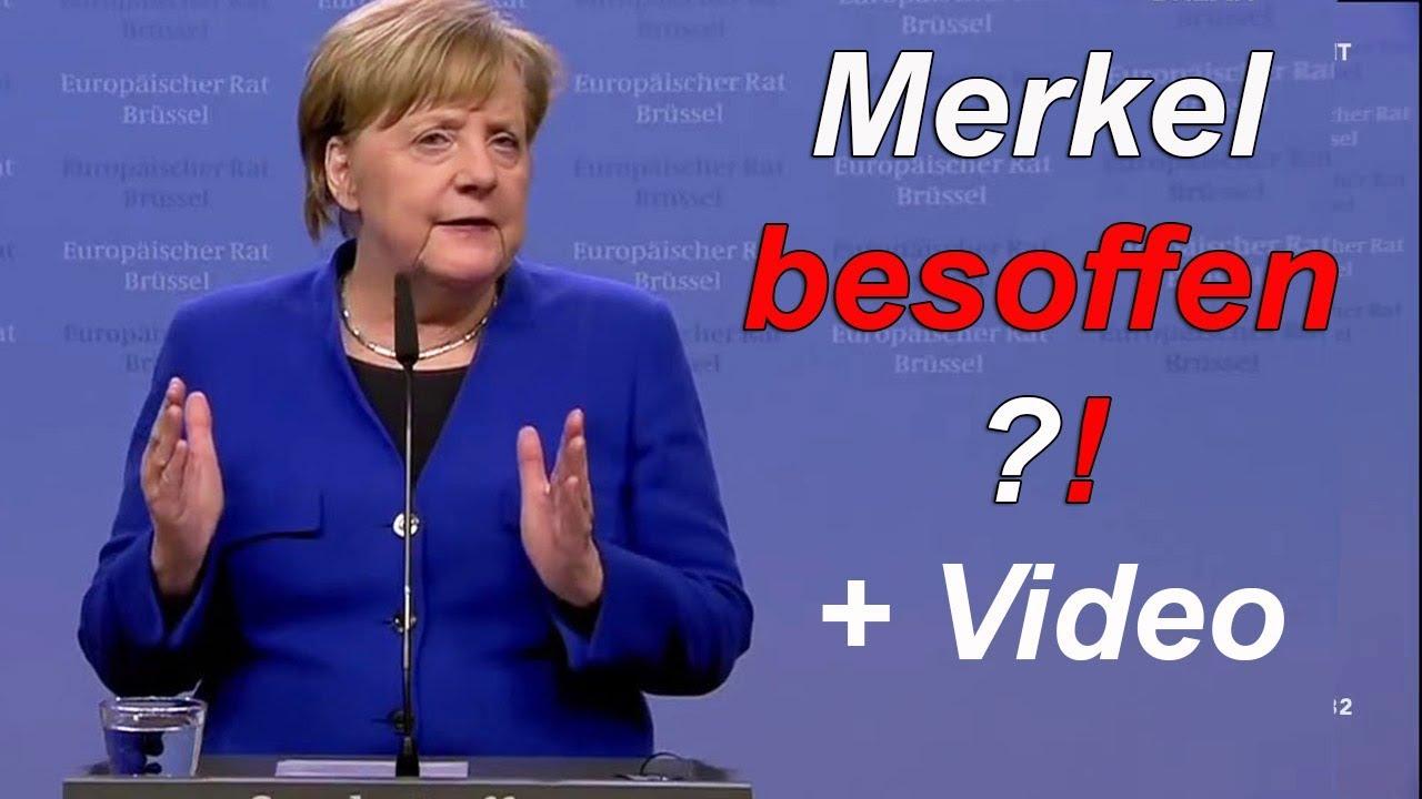 Merkel Betrunken