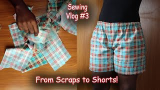 DIY Elastic Waist Shorts with Pockets | Alex Marie