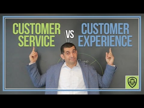 Customer Service Vs. Customer Experience