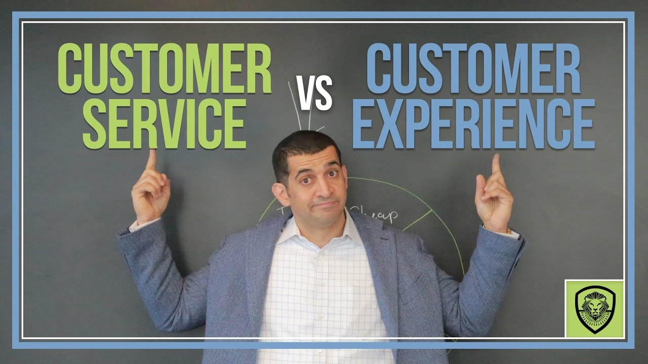 customer service vs customer experience customer service vs customer experience
