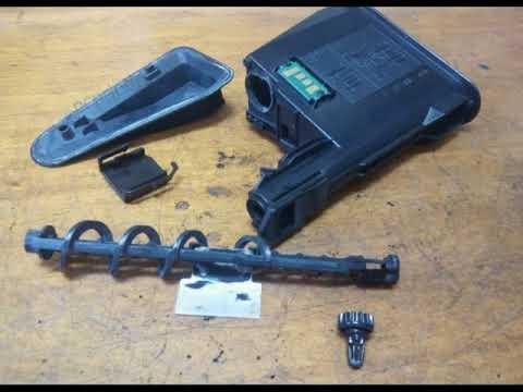 TK 1110/1120 разборка и ремонт тонер-картриджа.