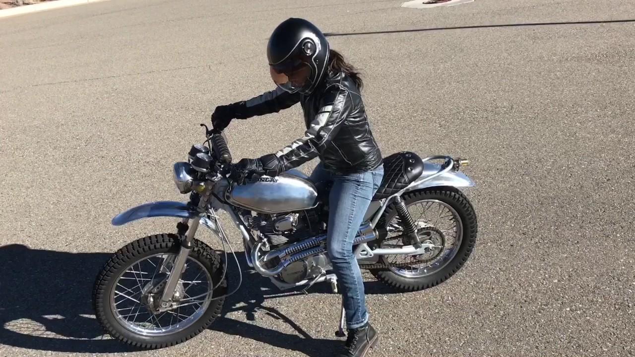 2016 Honda Rebel >> 1972 Honda SL 350 Headshaker - YouTube