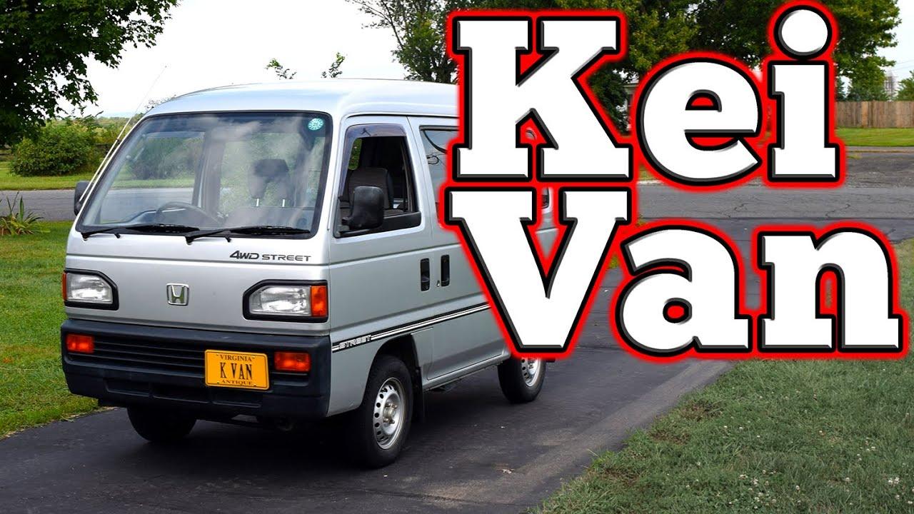 regular car reviews  honda acty street kei van youtube