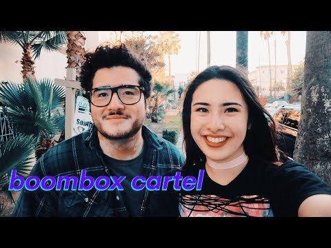 BOOMBOX CARTEL Interview- no one want B2U, professional paintballer, being in love, hardcore bands