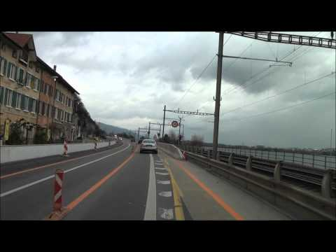 From Neuchatel to Luterbach / Autobahn A5 / Switzerland / 11.2010 / 1080p HD