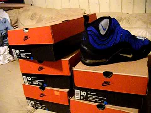 Nike Air Bakin Authentic Vintage Original OG Blue 1997 DS NIB size 10 $200  shipped US