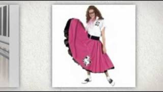 Poodle Skirt Costume For Adults