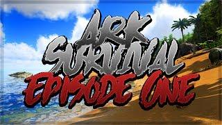 Ark Survival (Episode One) - ALPHA RAPTOR????