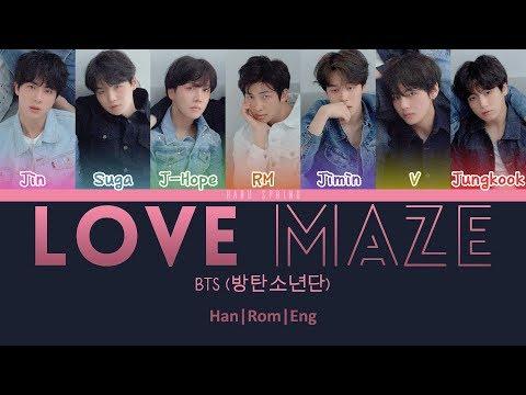 BTS (방탄소년단) - Love Maze (ColorCodedLyrics Han|Rom|Eng)