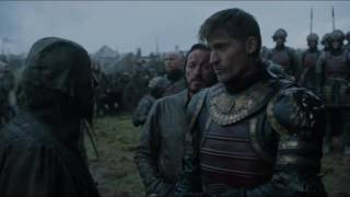 Jaime hits Frey troop - Game of Thrones S06E07