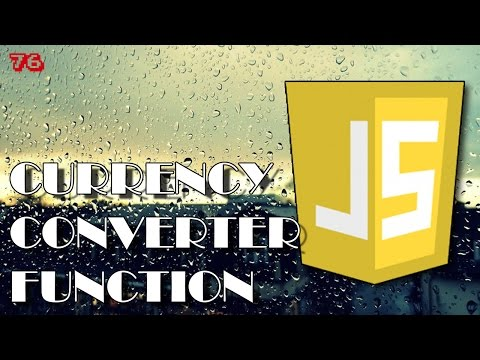 JAVASCRIPT Currency Converter Function