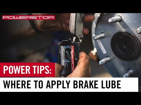 How To: Apply Brake Lube | PowerStop