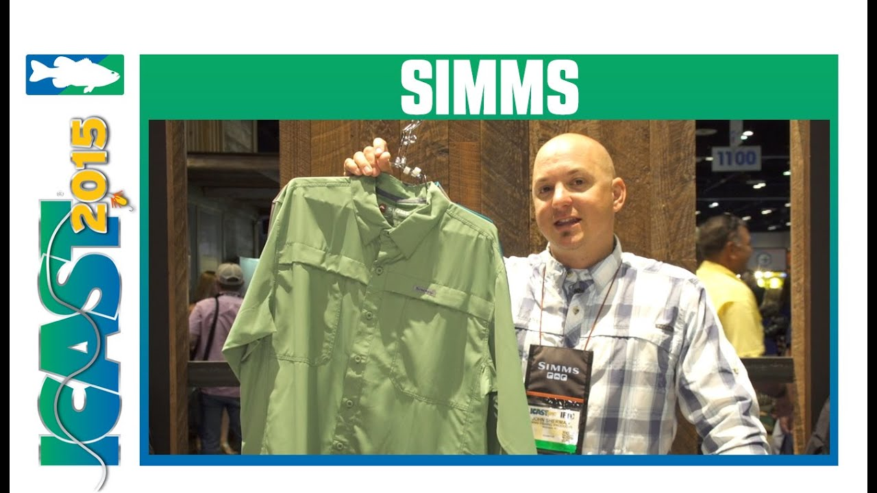 Simms Ebb Tide Long Sleeve & Short Sleeve Shirts | ICAST 2015