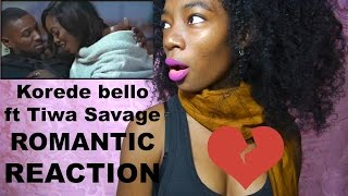 Korede Bello ft. Tiwa Savage Romantic REACTION