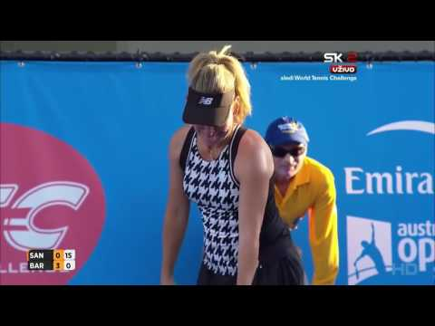 Arantxa Sanchez Vicario vs Marion Bartoli FULL MATCH HD World Tennis Challenge 2016