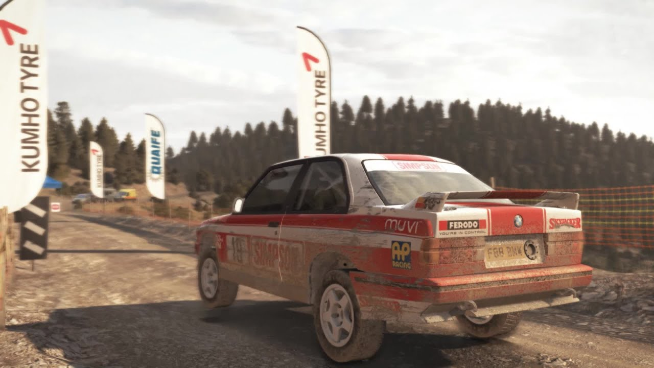delightful bmw dirt #5: DiRT Rally - BMW E30 M3 Evo Rally HD - YouTube
