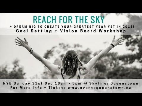 Goal Setting & Vision Board Workshop Queenstown Event 31st December 2017