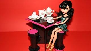 Как сделать кухонный стол и стул для куклы. How to make a kitchen table for doll.(, 2014-08-25T14:10:04.000Z)