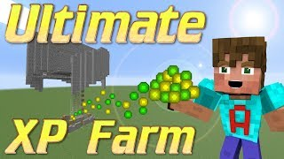 Wie man eine XP-Farm | Minecraft Mob Grinder | XP-Farm Minecraft Tutorial für Minecraft 1.12