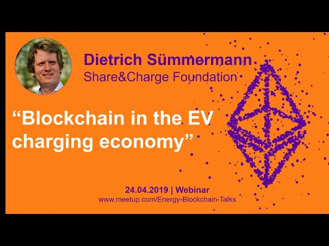 Share&Charge - Blockchain in the emobility sector - Energy Blockchain Talk