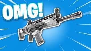 FINALLY.. NEW FORTNITE WEAPON SKINS!! (Fortnite High Stakes Event)