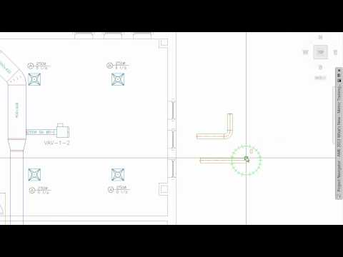 AutoCAD MEP 2013: Duct System Routing Enhancements | Doovi
