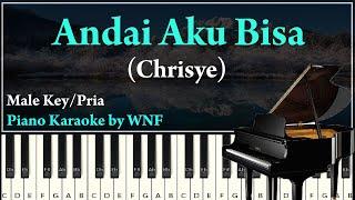 Download lagu Chrisye - Andai Aku Bisa Karaoke Piano Lower Key Pria