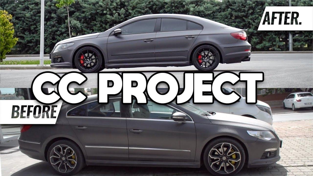 VW CC MMPower TARZINDA TEKRAR MODİFİYE ETTİK! [4K]