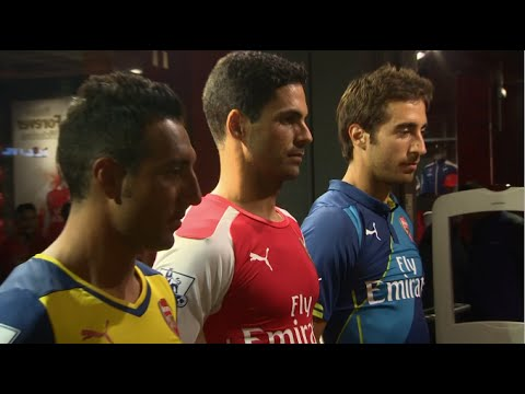 New Year, New Sponsor: Arsenal unveil new Puma kits for 2014/15 season