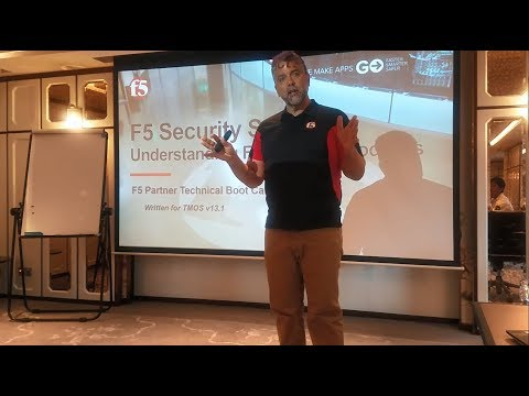 F5 2-day Partner Security Solutions - BIG-IP ASM Adv Lesson 1